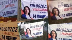 Skąd pochodzi kandydatka na posłankę z ramienia PiS Olga Kołoszczyk? Jej plakaty mogą zmylić