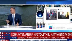 TVP Info pokazało fałszywe zdjęcie. Polityk Zielonych upomniał dziennikarza na wizji