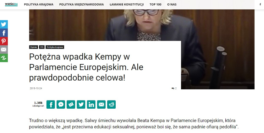 Beata Kempa Parlament Europejski