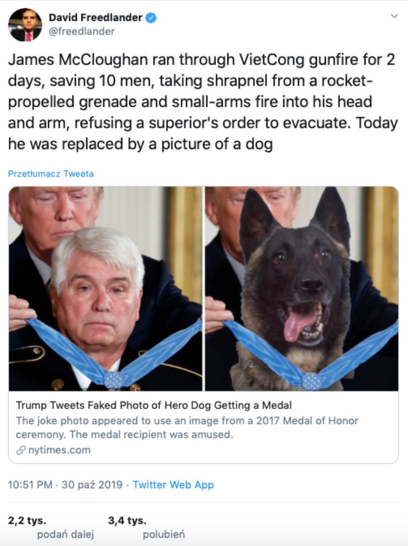 Donald Trump fotomontaż