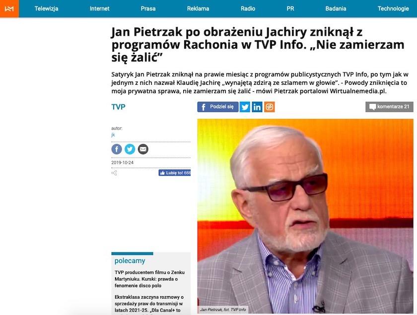 Jan Pietrzak Jarosław Olechowski