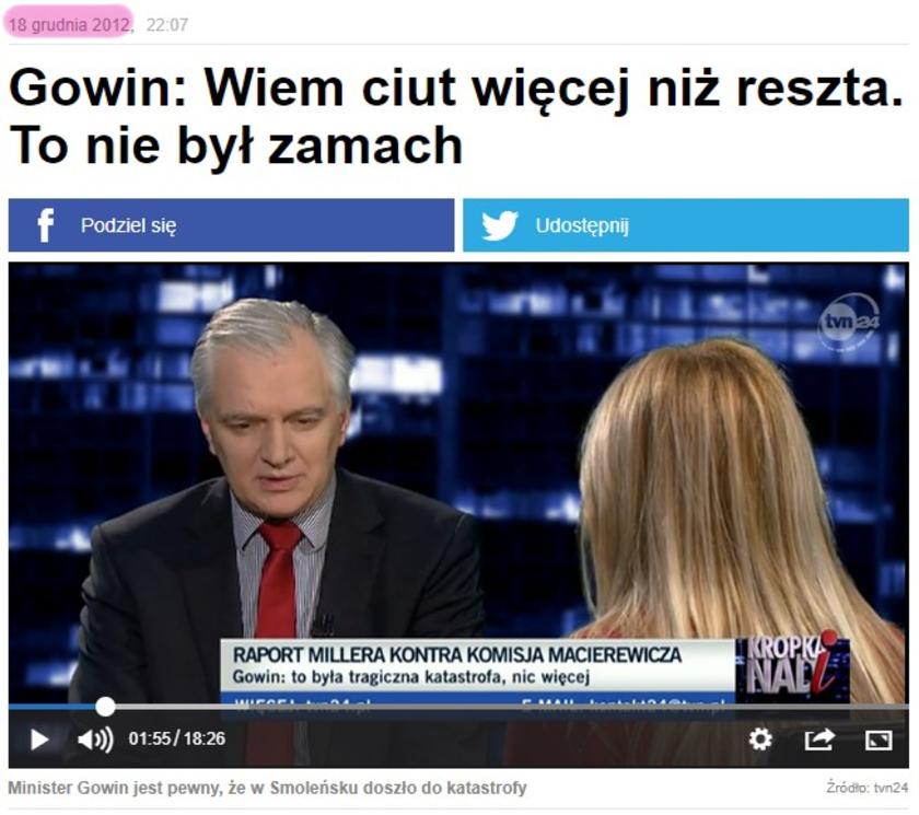 Katastrofa smoleńska TVN24