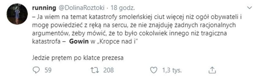 Katastrofa smoleńska tweet
