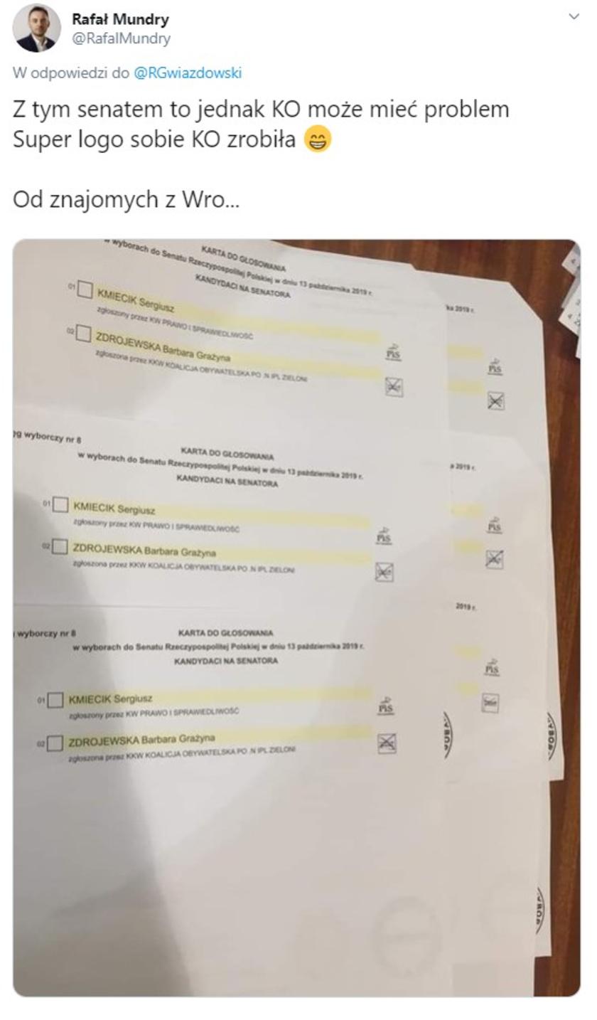 Koalicja Obywatelska wybory