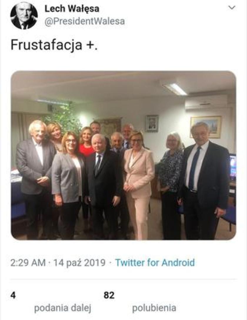 Lech Wałęsa Twitter