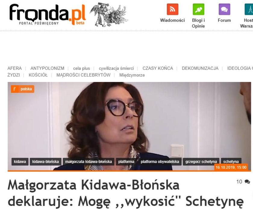 Małgorzata Kidawa-Błońska Grzegorz Schetyna
