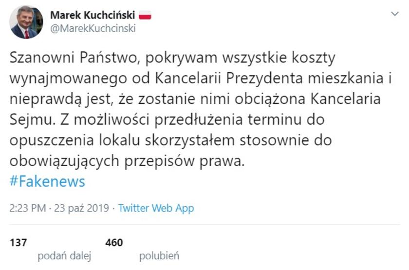 Marek Kuchciński willa