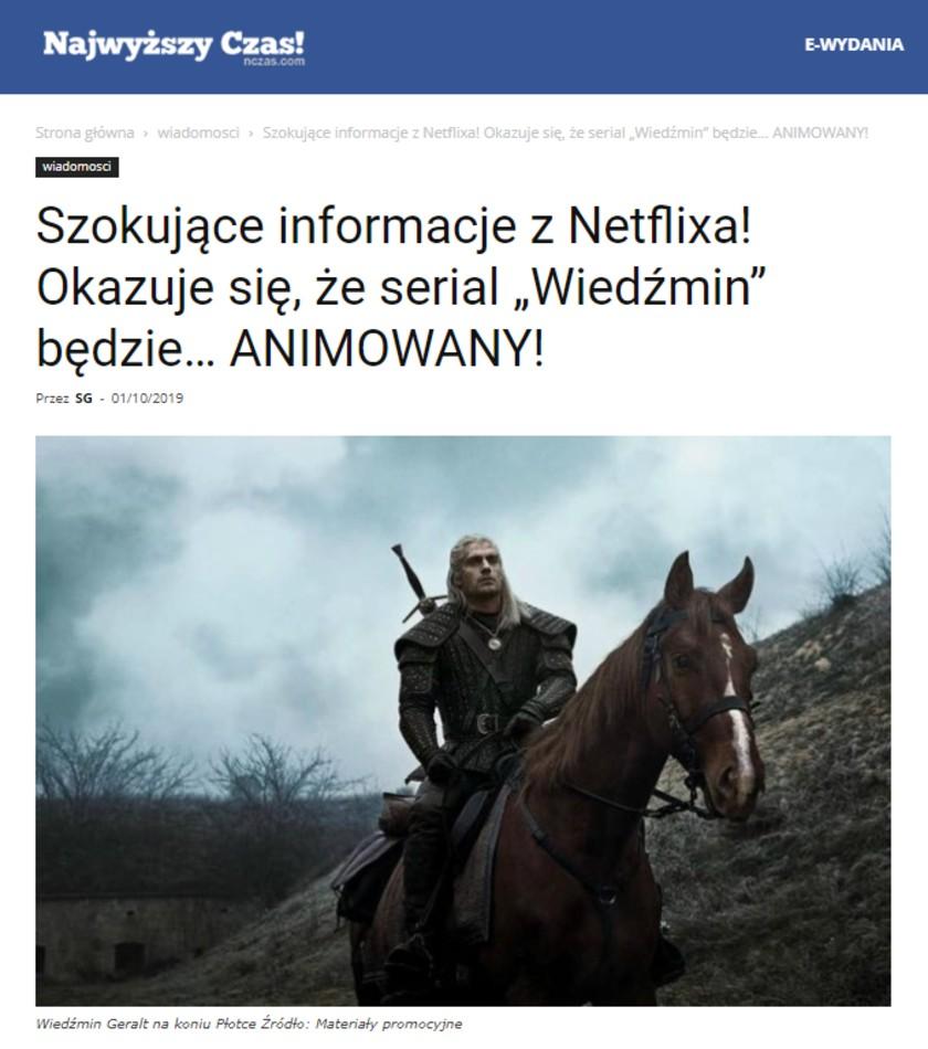Najwyższy czas! Netflix