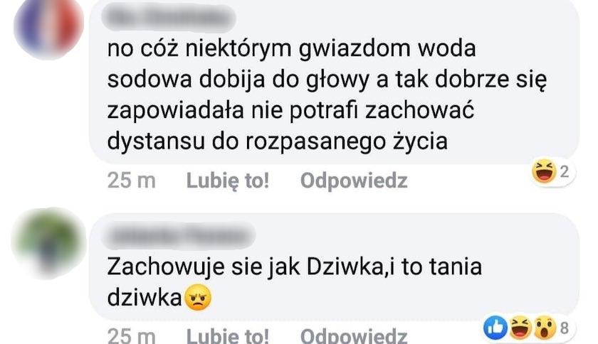 Roksana Węgiel komentarze