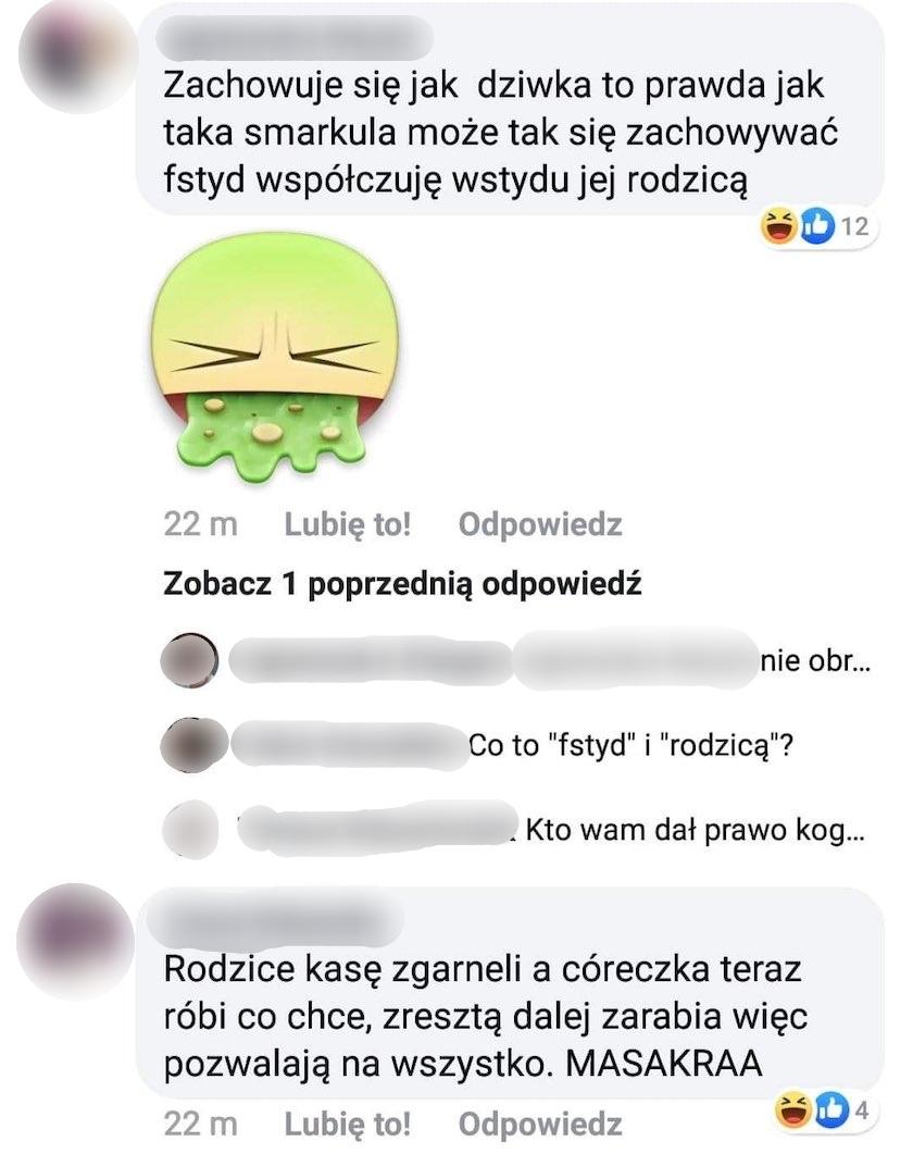 Roksana Węgiel fejk