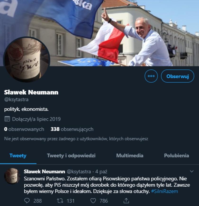 Sławomir Neumann fake