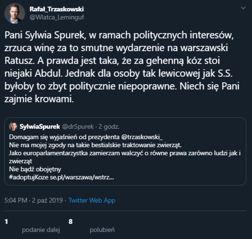 Sylwia Spurek fejk
