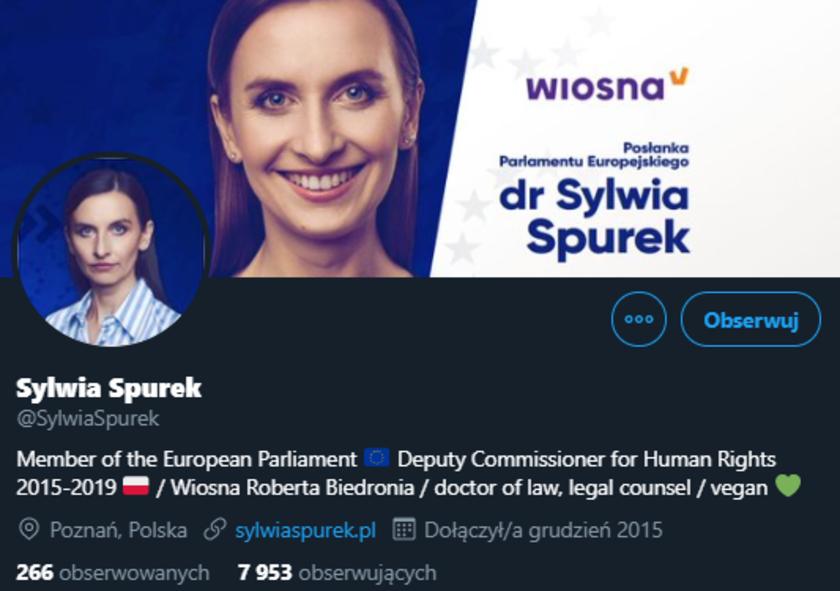 Sylwia Spurek Twitter