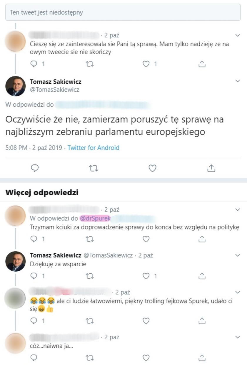 Tomasz Sakiewicz Sylwia Spurek