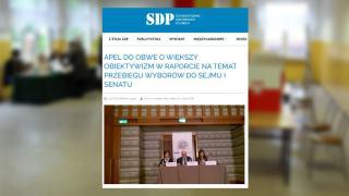 Stowarzyszenie Dziennikarzy Polskich OBWE
