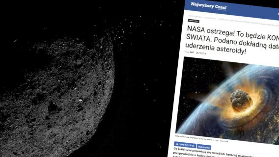Asteroida Bennu kolizja