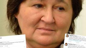 Sfałszowane wpisy Magdaleny Środy obiegają media społecznościowe. Ich autora obserwują na Twitterze politycy PiS
