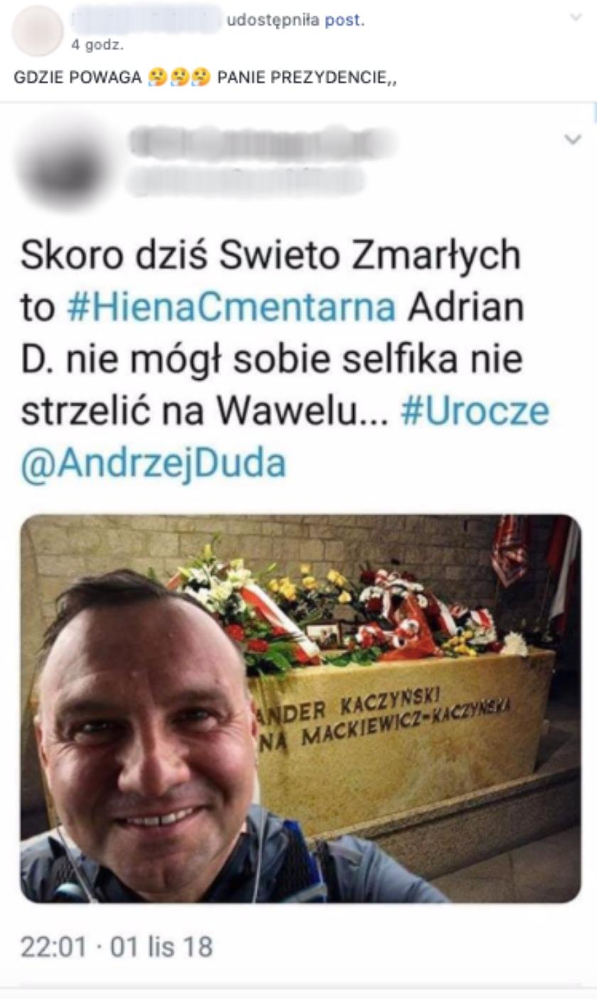 Andrzej Duda fotomontaż