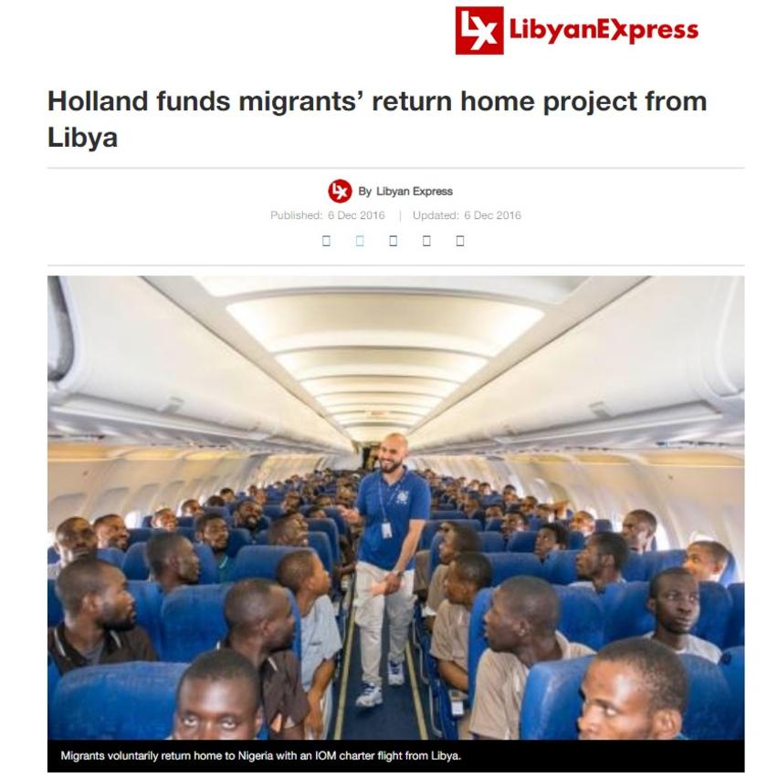 Imigranci Nigeria