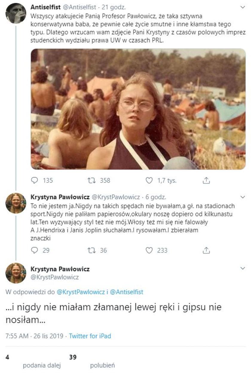 Krystyna Pawłowicz zdjęcie