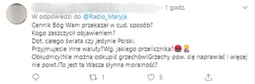 Radio Maryja fake konto