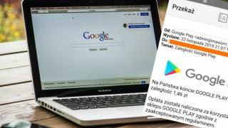 Google oszustwo