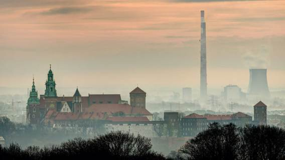 Kraków smog