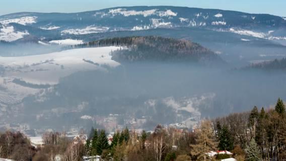 Smog gdzie największy