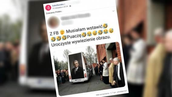 Portret Karczewskiego uroczyście obwożony po całej Polsce? Fotomontaż zdążył zdobyć ogromną popularność