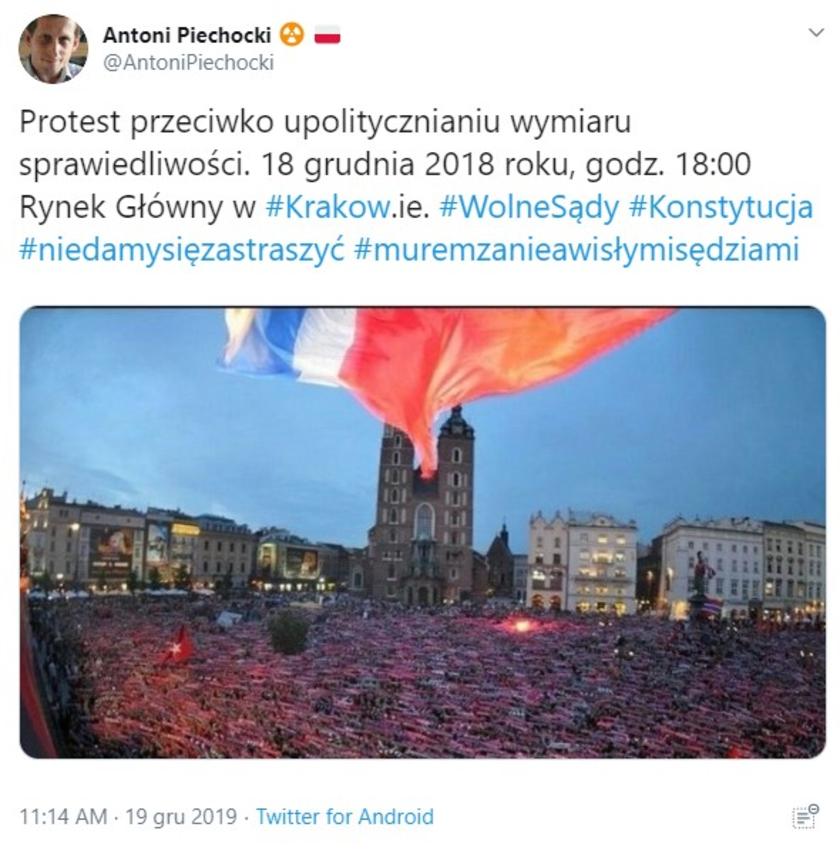 Kraków fejk