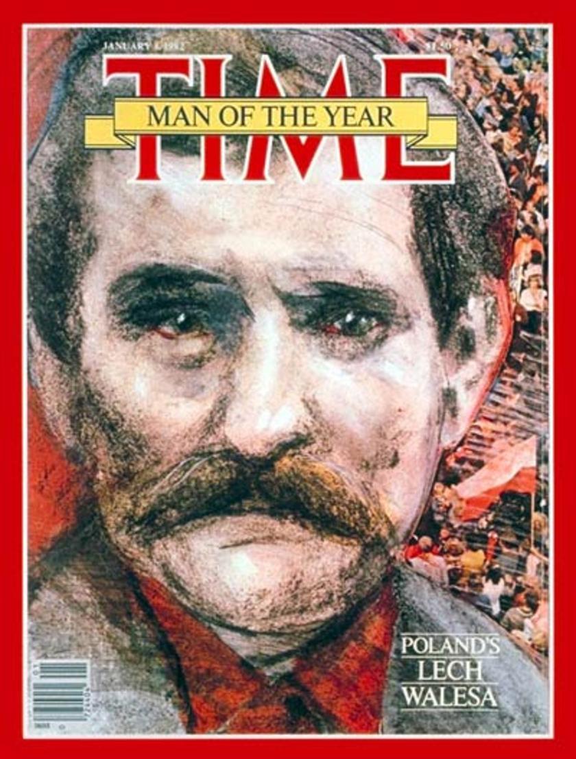 Lech Wałęsa Człowiek Roku