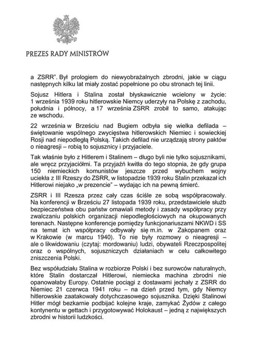 Mateusz Morawiecki oświadczenie 2