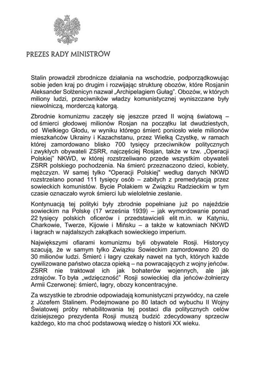 Mateusz Morawiecki oświadczenie 3