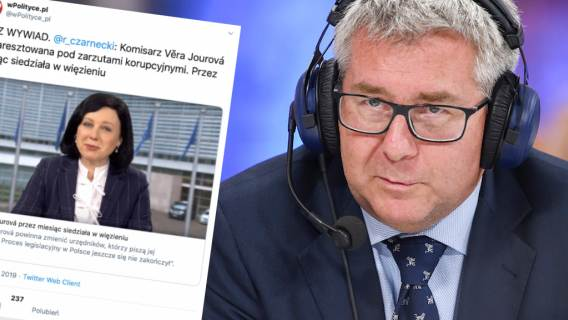 Zamieszanie wokół unijnej komisarz po wywiadzie polityka PiS. Redakcja zasugerowała jej kryminalną przeszłość