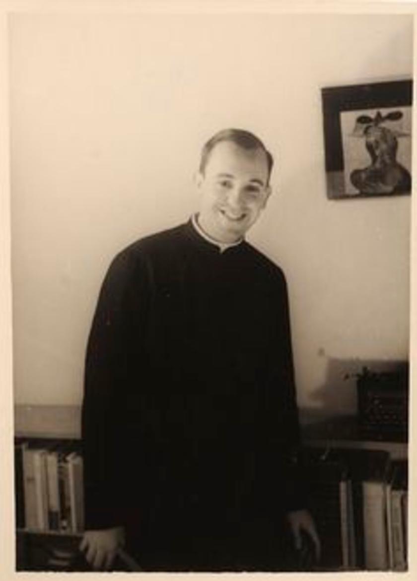 Papież Franciszek młody