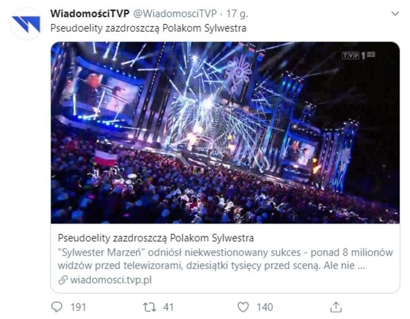 Wiadomości TVP Twitter