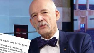 Pożary Australia Janusz Korwin-Mikke