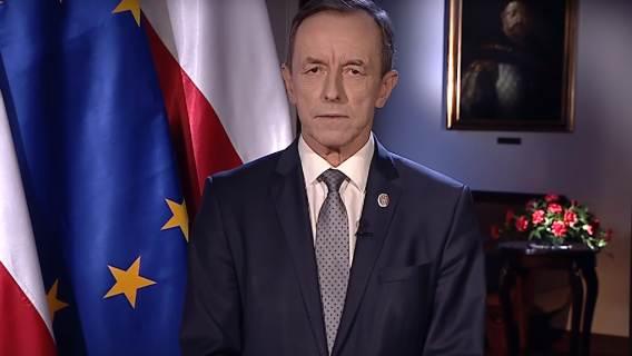 Andrzej Duda wprowadził widzów TVP w błąd. Uderzył przy tym w marszałka Senatu Tomasza Grodzkiego