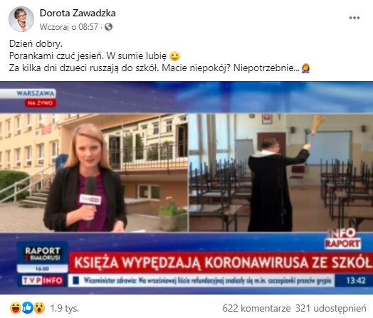 Dorota Zawadzka - facebook