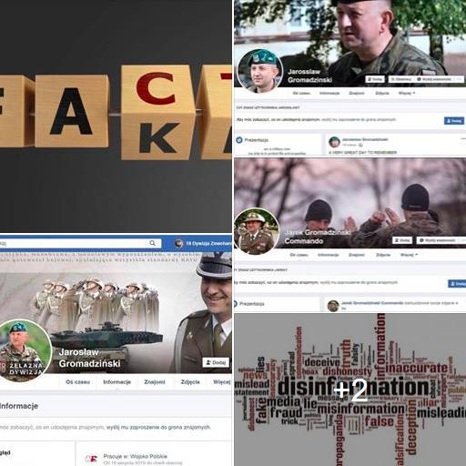 Fałszywe konta Jarosława Gromadzińskiego na Facebooku.