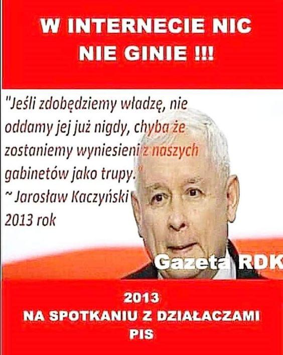 Jarosław Kaczyński - fałszywy cytat.