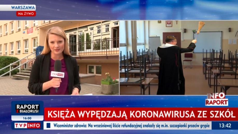 Fake news o księżach.
