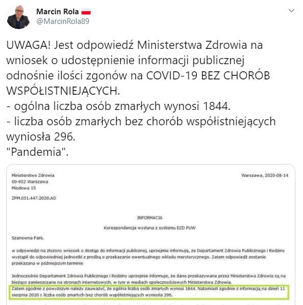 Marcin Rola - Twitter