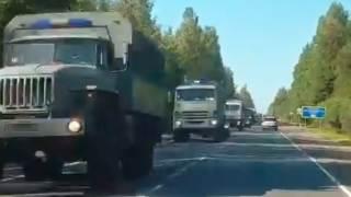 Pojazdy wojskowe.