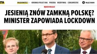 News o zamknięciu gospodarki na Planeta.pl.