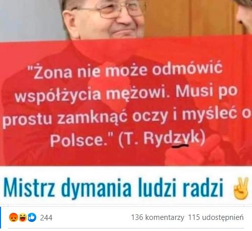 Tadeusz Rydzyk - cytat