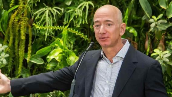 Jeff Bezos, dyrektor generalny Amazon.com.