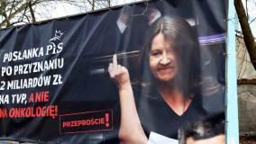 Billboard z Joanną Lichocką.