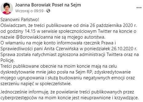 Borowiak - Twitter