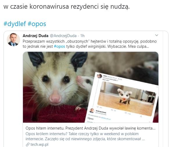 Andrzej Duda - opos